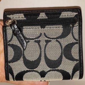 Coach Bags - Coach Soho Signature pleated Mini Snap wallet